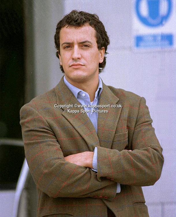 New F1 Boss Roco Benetton, Benetton F1, Formula One Testing Silverstone, June 1999