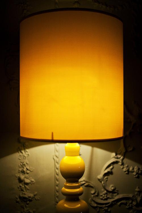 A Lamp. Stoke Place Hotel. Buckinghamshire. 2009