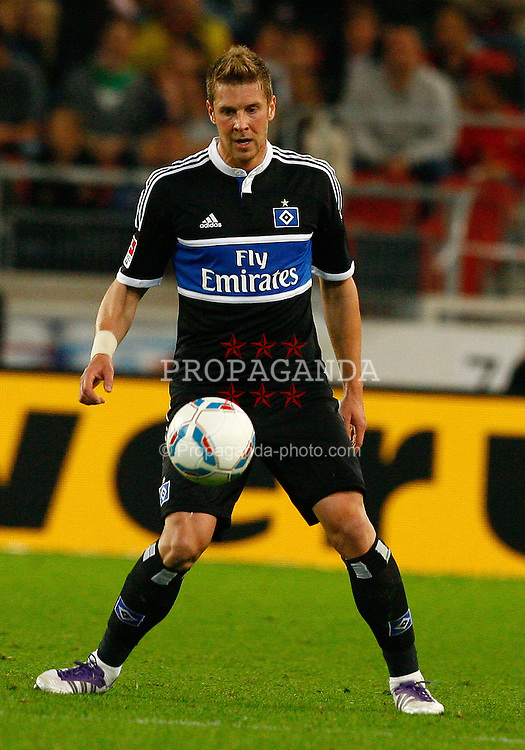 23.09.2011, Mercedes-Benz Arena, Stuttgart, GER, 1.FBL, VfB Stuttgart vs Hamburger SV, Slobodan RAJKOVIC, HSV am Ball, Aktion..// during the match from GER, 1.FBL, VfB Stuttgart vs Hamburger SV on 2011/09/23, Mercedes-Benz Arena, Stuttgart  Germany..EXPA Pictures © 2011, PhotoCredit: EXPA/ nph/  A.Huber       ****** out of GER / CRO  / BEL ******
