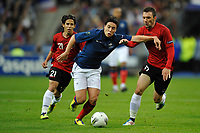 FOOTBALL - UEFA EURO 2012 - QUALIFYING - GROUP D - FRANCE v ALBANIA - 7/10/2011 - PHOTO GUY JEFFROY / DPPI - SAMIR NASRI (FRA)