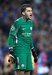 Manchester City goalkeeper Ederson