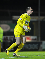 Yeovil Town's Chris Dunn - Photo mandatory by-line: Joe Meredith/JMP - Tel: Mobile: 07966 386802 03/12/2013 - SPORT - Football - Yeovil - Huish Park - Yeovil Town v Blackpool - Sky Bet Championship