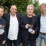 NLD/Amsterdam/20150921 - Persviewing Sbs Programma's  Dokter Tinus en Bureau Raampoort, Thomas Acda, Tim Haars met de schrijver Simon de Waal en zendermanager Rene Oosterman
