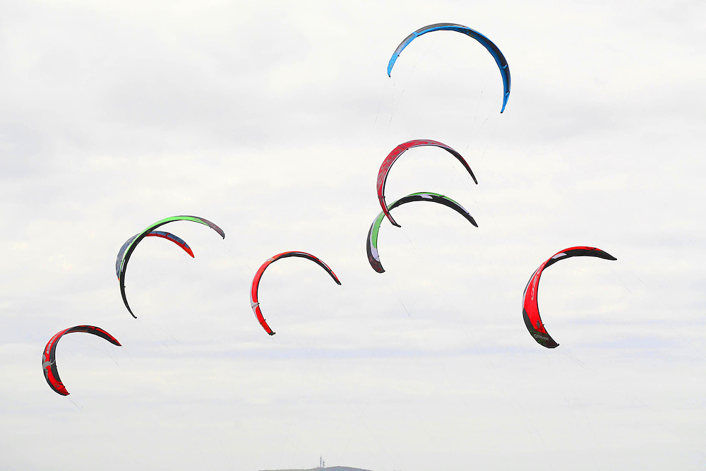 21/8/2011. Kitesurfing festival Duncannon Beach, Co Wexford. Photo Patrick Browne