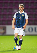 Scotland's Stephen Kingsley during Scotland Under-21 v FYR Macedonia,  UEFA Under 21 championship qualifier  at Tynecastle, Edinburgh. Photo: David Young<br /> <br />  - © David Young - www.davidyoungphoto.co.uk - email: davidyoungphoto@gmail.com