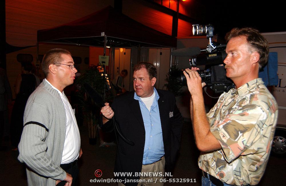 South Sea Jazz 2003, Han Landman interviewt