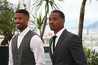 Michael B. Jordan and Ryan Coogler at the Fruitvale Station film photocall at the Cannes Film Festival 16th May 2013