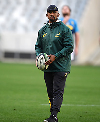 Cape Town-180618 New Springbok  assistant coach Mzwandile Stick  at Cape Town Stadium where the national team had a training session.photograph:Phando Jikelo/African News Agency/ANA