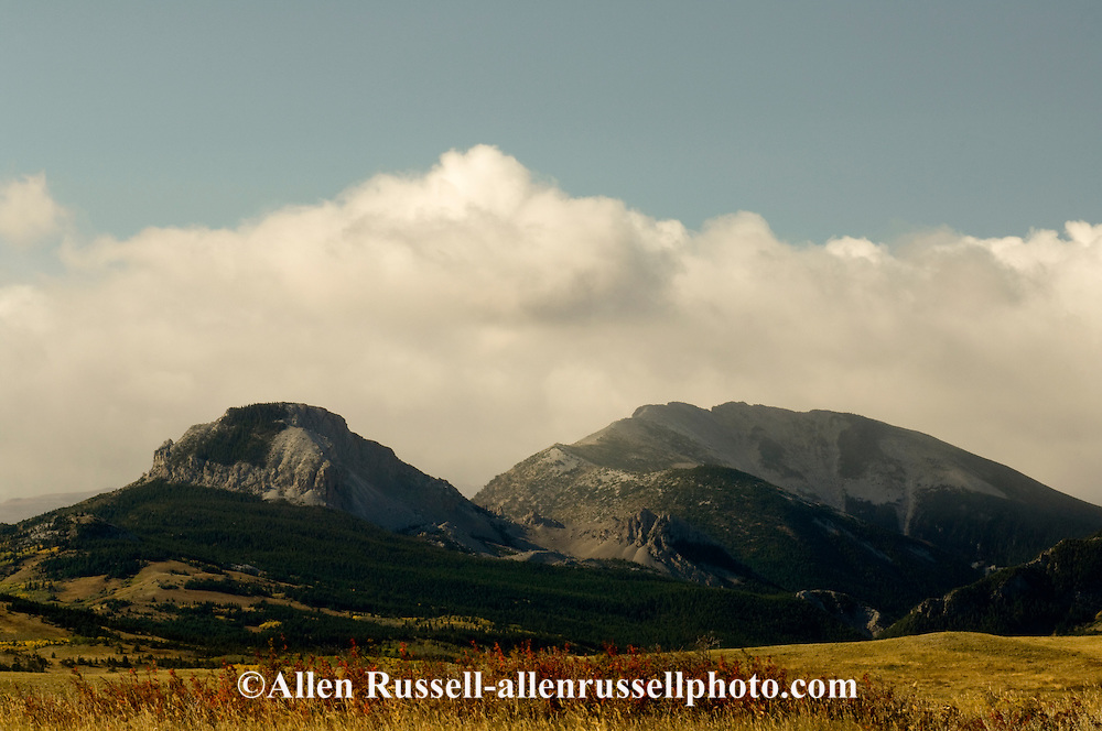 Heart Butte Peak, Feather Woman Mountain, Blackfeet Indian Reservation, Montana