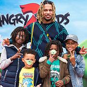 NLD/Amsterdam/20190814 - Premiere Angry Birds 2, Bokoesam met zijn kinderen