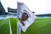 A general view corner flag at Elland Road before the EFL Sky Bet Championship match between Leeds United and Queens Park Rangers at Elland Road, Leeds, England on 2 November 2019.