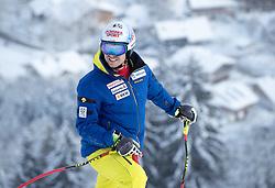 17.01.2017, Hahnenkamm, Kitzbühel, AUT, FIS Weltcup Ski Alpin, Kitzbuehel, Abfahrt, Herren, Streckenbesichtigung, im Bild Mauro Caviezel (SUI) // Mauro Caviezel of Swizerland during the course inspection for the men's downhill of FIS Ski Alpine World Cup at the Hahnenkamm in Kitzbühel, Austria on 2017/01/17. EXPA Pictures © 2017, PhotoCredit: EXPA/ Johann Groder