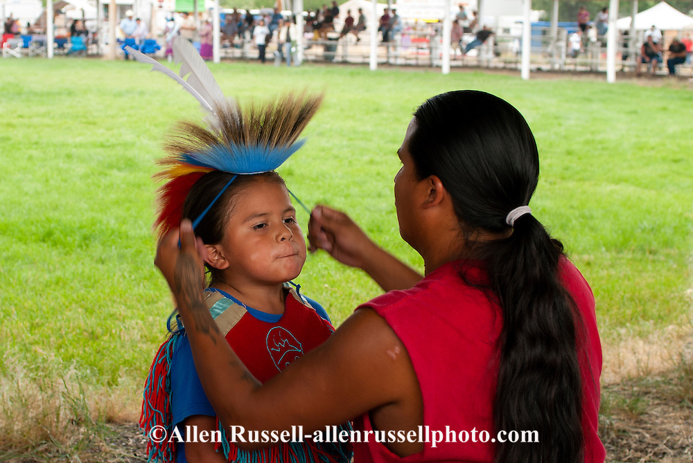 Powwows, Native Americans, Kids, Traditional Dancer, Crow Fair, Crow Indian Reservation, Montana