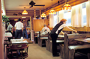 interior of western diner
