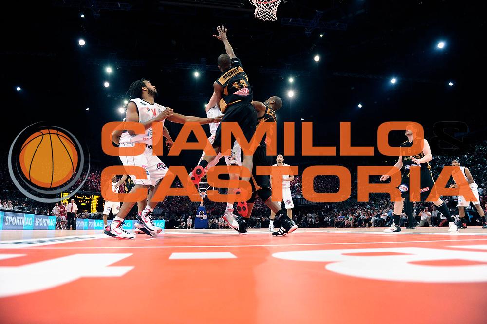 DESCRIZIONE : Championnat de France Basket Ligue Pro A Finale <br /> GIOCATORE : Samnick Victor<br /> SQUADRA : Nancy<br /> EVENTO : Ligue Pro A  2010-2011<br /> GARA : Cholet Nancy<br /> DATA : 26/06/2011<br /> CATEGORIA : Basketbal France Ligue Pro A<br /> SPORT : Basketball<br /> AUTORE : JF Molliere par Agenzia Ciamillo-Castoria <br /> Galleria : France Basket 2010-2011 Action<br /> Fotonotizia : Championnat de France Basket Ligue Pro A <br /> Predefinita :