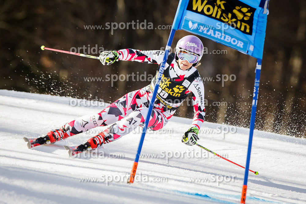 Michaela Kirchgasser (AUT) during 7th Ladies' Giant slalom at 52nd Golden Fox - Maribor of Audi FIS Ski World Cup 2015/16, on January 30, 2016 in Pohorje, Maribor, Slovenia. Photo by Ziga Zupan / Sportida