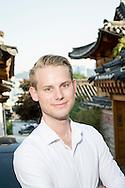 Axel Brangenfeldt jobbar på Business Sweden och hjälper svenska företag att etablera sig och växa på den koreanska marknaden.