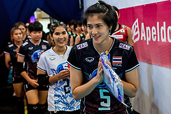 07-07-2017 NED: World Grand Prix Japan - Thailand, Apeldoorn<br /> Second match of first weekend of group C during the World Grand Prix / Pleumjit Thinkaow C #5 of Thailand