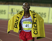 STELLENBOSCH, SOUTH AFRICA, Tuesday 20 March 2012, Gladwin Mzazi during the Yellow Pages Series athletics meeting at the University of Stellenbosch Coetzenburg stadium..Photo by Roger Sedres/Image SA