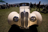 PEBBLE BEACH, CA - AUGUST 19:  A 1937 Frazer Nash-BMW 328 Roadster at the 2007 Pebble Beach Concours d'Elegance on August 19, 2007 in Pebble Beach, California.  (Photo by David Paul Morris)