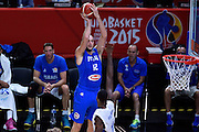 DESCRIZIONE : Lille Eurobasket 2015 Ottavi di Finale Israele Italia Israel Italy<br /> GIOCATORE : Marco Cusin<br /> CATEGORIA : nazionale maschile senior A<br /> GARA : Lille Eurobasket 2015 Ottavi di Finale Israele Italia Israel Italy<br /> DATA : 13/09/2015<br /> AUTORE : Agenzia Ciamillo-Castoria