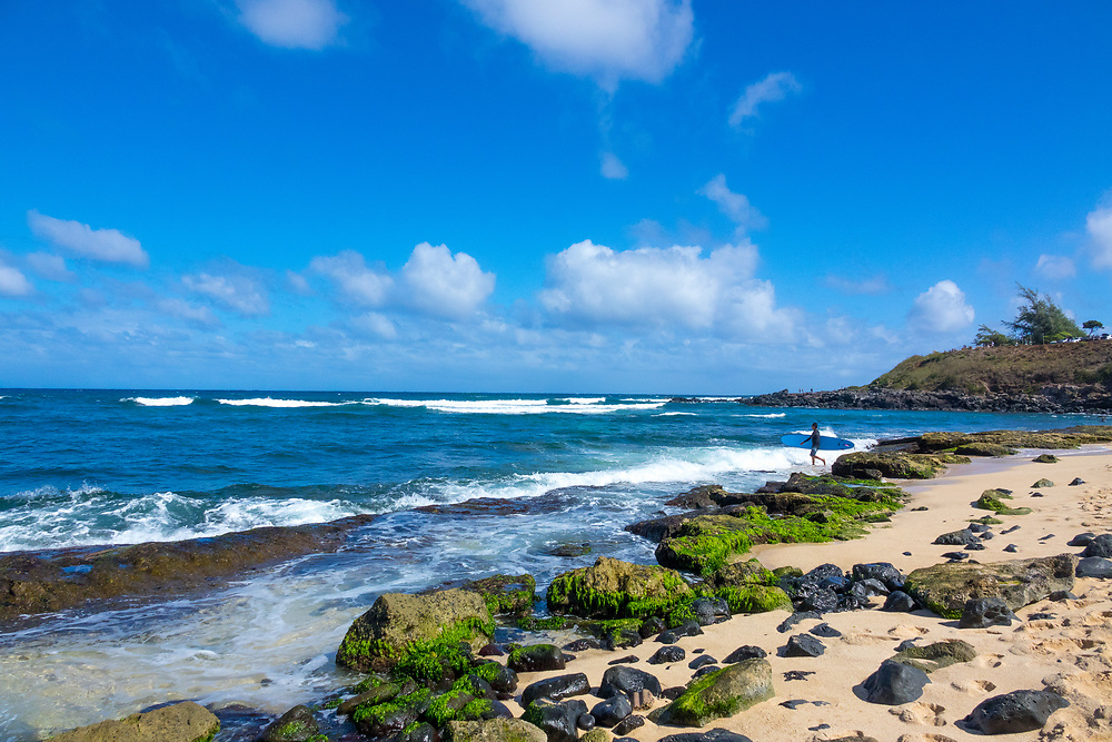 Ho'okipa Beach Park, Paia, Maui, Hawaii, USA