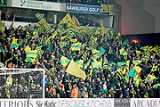 Norwich City fans during the The FA Cup 3rd round match between Norwich City and Portsmouth at Carrow Road, Norwich, England on 5 January 2019.