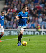 7th April 2018, Ibrox Stadium, Glasgow, Scotland; Scottish Premier League football, Rangers versus Dundee; Russell Martin of Rangers