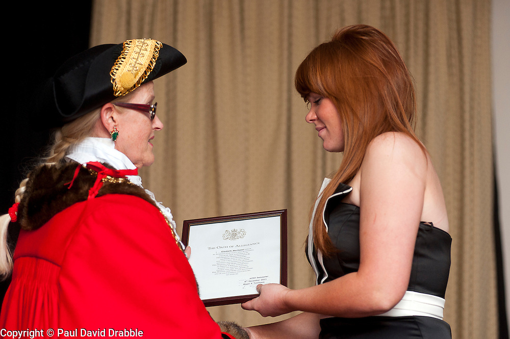 Army Prep course and Oath of Allegiance Doncaster..www.pauldaviddrabble.co.uk.7 December 2011  Image © Paul David Drabble