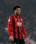 Arnaut Danjuma (14) of AFC Bournemouth during the Premier League match between Bournemouth and Wolverhampton Wanderers at the Vitality Stadium, Bournemouth, England on 23 November 2019.