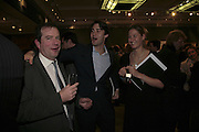 hon Philip Astor, William van Cutsem and Mima Lopes, Reception and auction of Wildlife and Sporting Art in aid of the game Conservancy Trust. Christie's. King St. London W1. 12 December 2006. ONE TIME USE ONLY - DO NOT ARCHIVE  © Copyright Photograph by Dafydd Jones 248 CLAPHAM PARK RD. LONDON SW90PZ.  Tel 020 7733 0108 www.dafjones.com