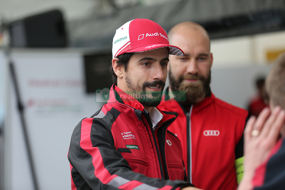May 18, 2018 - Berlin, Germany - Formula e Berlin ePrix: The photo shows the racing driver Lucas di Grassi. (Credit Image: © Simone Kuhlmey/Pacific Press via ZUMA Wire)