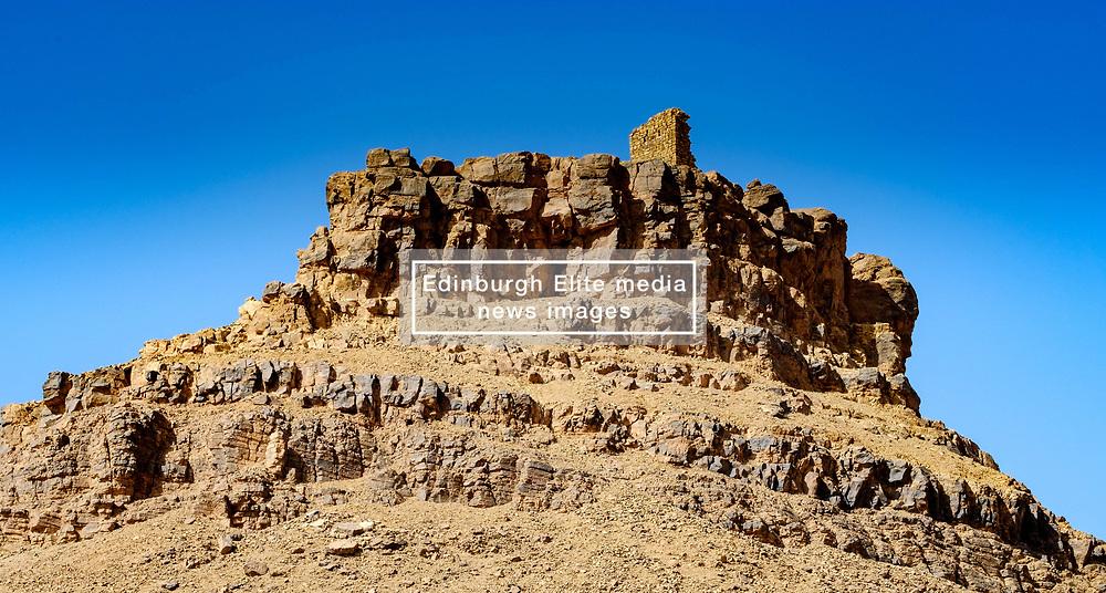 A rocky outcrop in the Moroccan desert near Tagounite in the far south of Morocco<br /> <br /> (c) Andrew Wilson | Edinburgh Elite media