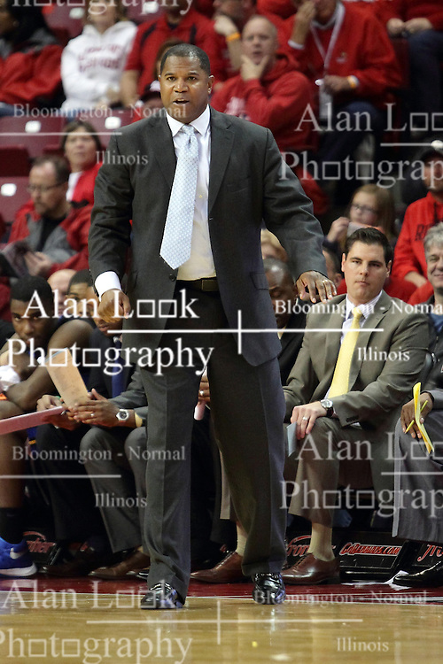 16 November 2015: Sean Woods. Illinois State Redbirds host the Morehead State Eagles at Redbird Arena in Normal Illinois (Photo by Alan Look)
