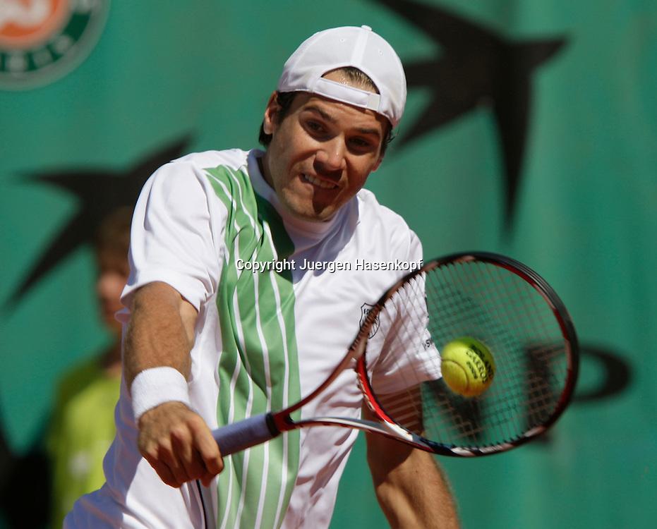 French Open 2009, Roland Garros, Paris, Frankreich,Sport, Tennis, ITF Grand Slam Tournament, ..Tommy Haas (GER) ..Foto: Juergen Hasenkopf..