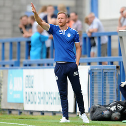 21/7/2018 - Telford manager Gavin Cowans during the pre season friendly fixture between AFC Telford United and Wrexham at the New Bucks Head Stadium, Telford.<br /> <br /> Pic: Mike Sheridan/Newsquest NW<br /> MS173-2018