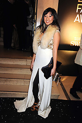 BEATRIX ONG at the 2008 British Fashion Awards held at the Lawrence Hall, Westminster, London on 25th November 2008.