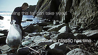 A still from the film Ren Kyst 2 - a short film about marine litter