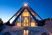 Pool House, Water Mill, NY: The Hamptons. Setsuo Ito, architect.