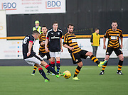 Dundee new boy Michael Duffy scores on his debut - Alloa Athletic v Dundee, pre-season friendly at Recreation Park, Alloa<br /> <br />  - &copy; David Young - www.davidyoungphoto.co.uk - email: davidyoungphoto@gmail.com