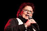Marie-André Thollon, directice artistique du 17e festival Vue sur la relève des arts de la scène du 4 au 21 avril 2012 /  le Lion d'Or / Montreal / Canada / 2012-03-06, © Photo Marc Gibert / adecom.ca