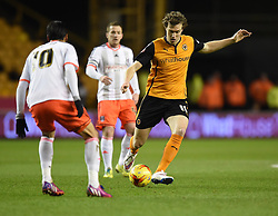 Wolverhampton Wanderers Kevin McDonald in action during the Sky Bet Championship match between Wolverhampton Wanderers and Fulham at Molineux Stadium on 24 February 2015 in Wolverhampton, England - Photo mandatory by-line: Paul Knight/JMP - Mobile: 07966 386802 - 24/02/2015 - SPORT - Football - Wolverhampton - Molineux Stadium - Wolverhampton Wanderers v Fulham - Sky Bet Championship