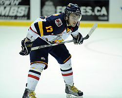 Zac Rinaldo of the Barrie Colts in Game 3 of the Rogers OHL Championship Series in Windsor on Sunday May 2. Photo by Aaron Bell/OHL Images