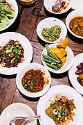 Northern style lunch at Huen Jai Yong, Chiang Mai
