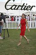 Princess Tamara Czartorski Borbon, Cartier International Polo. Guards Polo Club. Windsor Great Park. 30 July 2006. ONE TIME USE ONLY - DO NOT ARCHIVE  © Copyright Photograph by Dafydd Jones 66 Stockwell Park Rd. London SW9 0DA Tel 020 7733 0108 www.dafjones.com