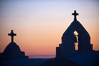 Grece, les Cyclades, Iles Egéennes, Ile de Mykonos, Ville de Chora, Eglise de la Panagia Paraportiani // Greece, Cyclades, Mykonos island, Chora, Mykonos town, Panagia Paraportiani church