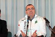 Prandi  Treviso  Presenatzione nuova allenatore benetton basket  RepresaDESCRIZIONE : Treviso Lega A 2009-10 Basket Benetton Treviso <br /> GIOCATORE : Jasmin Repesa <br /> SQUADRA : Benetton Treviso<br /> EVENTO : Campionato Lega A 2009-2010<br /> GARA : Benetton Treviso <br /> DATA : 19/01/2010<br /> CATEGORIA : Presentazione<br /> SPORT : Pallacanestro<br /> AUTORE : Agenzia Ciamillo-Castoria/M.Gregolin<br /> Galleria : Lega Basket A 2009-2010 <br /> Fotonotizia : Treviso Campionato Italiano Lega A 2009-2010 Benetton Treviso Banca <br /> Predefinita :