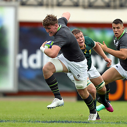 Joe Dunleavy of Ireland during the U20 World Championship match between Ireland and South Africa on June 3, 2018 in Narbonne, France. (Photo by Manuel Blondeau/Icon Sport)