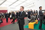 SIR NICHOLAS SEROTA, opening of the 2010 Frieze art fair. Regent's Park. London. 13 October 2010. -DO NOT ARCHIVE-© Copyright Photograph by Dafydd Jones. 248 Clapham Rd. London SW9 0PZ. Tel 0207 820 0771. www.dafjones.com.