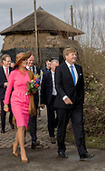 Gouderak, 21-2-2017 <br /> <br /> King Willem-Alexander and Queen Maxima visit Krimpernerwaard.<br /> <br /> Visit Farm<br /> <br /> PUBLICATION ON:Y IN FRANCE<br /> <br /> COPYRIGHT: ROYALPORTRAITS EUROPE/ BERNARD RUEBSAMEN